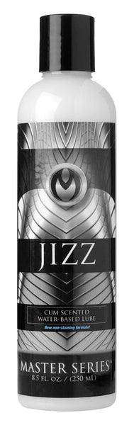 Jizz Water Based Cum Scented Lube - 8.5 oz - Fun and Kinky Sex Toys