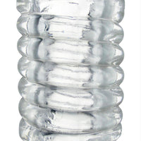 Spiral Ball Stretcher - Clear - Fun and Kinky Sex Toys