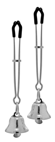 Chimera Adjustable Bell Nipple Clamps - Fun and Kinky Sex Toys