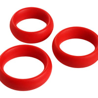 3 Piece Silicone Cock Ring Set - Fun and Kinky Sex Toys
