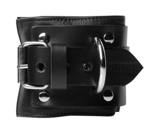 Deluxe Locking Wide Padded Cuffs - Fun and Kinky Sex Toys