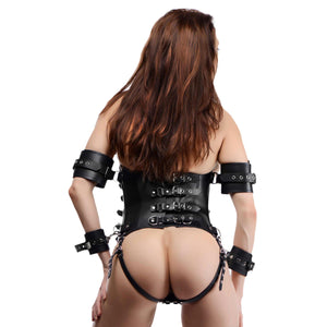 Ultimate Lockdown Female Waist Cincher - Fun and Kinky Sex Toys