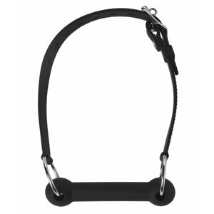 Mr. Ed Lockable Silicone Horse Bit Gag - Fun and Kinky Sex Toys