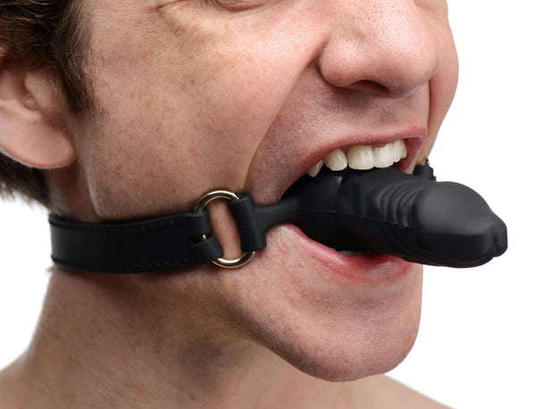 Suppressor Silicone Face Banger Gag - Fun and Kinky Sex Toys