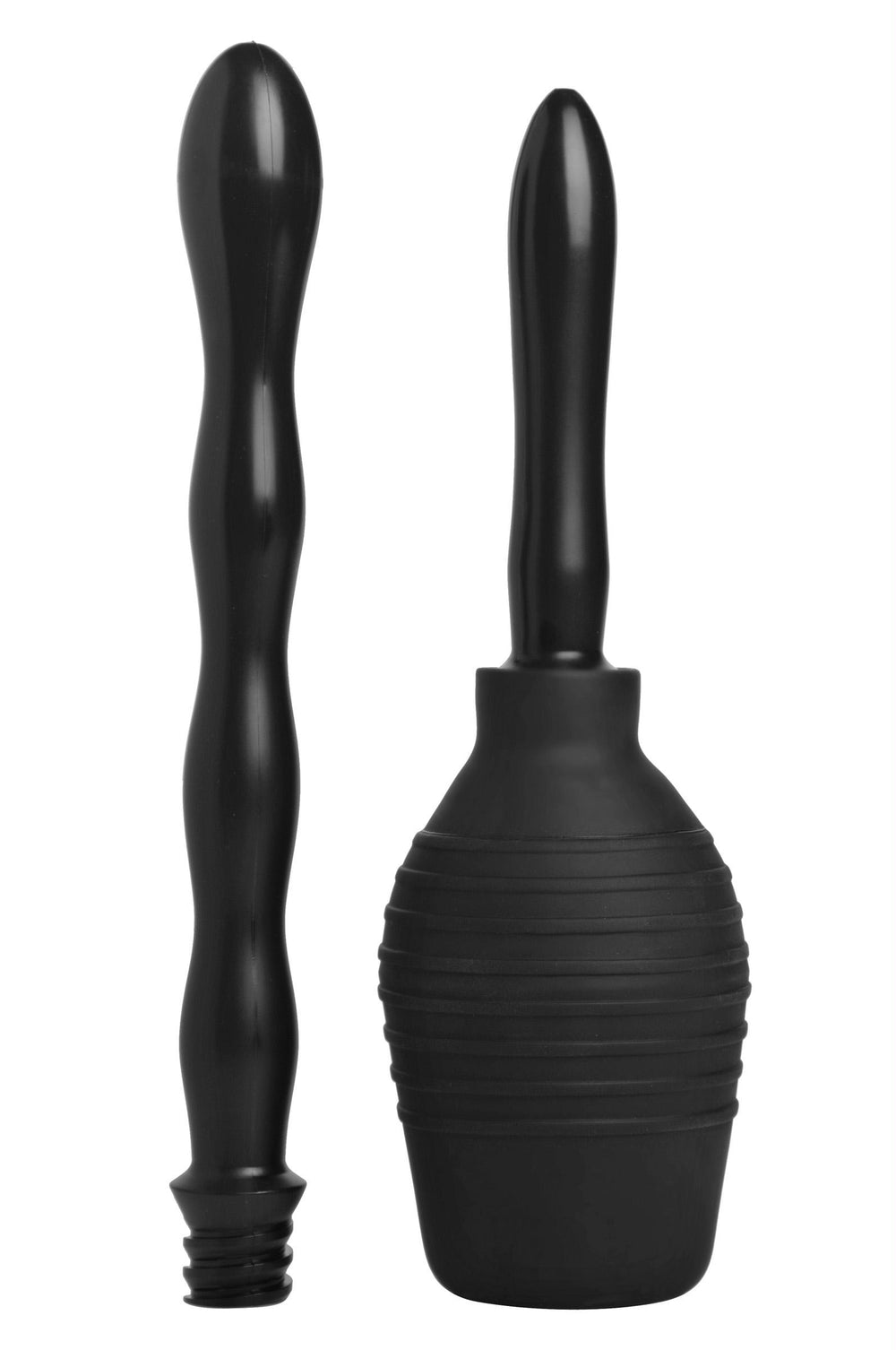 Smooth Cleanse Double Tip Enema Bulb System - Fun and Kinky Sex Toys