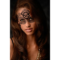 The Enchanted Black Lace Mask - Fun and Kinky Sex Toys