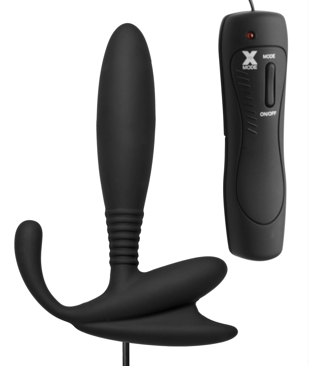 Cobra Vibrating Silicone P-Spot Massager - Fun and Kinky Sex Toys