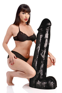 Moby Huge 3 Foot Tall Super Dildo - Black - Fun and Kinky Sex Toys