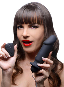 Cock Control 10 Mode Remote Silicone Plug - Fun and Kinky Sex Toys