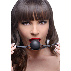 Breathable Ball Gag with Removable Cover - Fun and Kinky Sex Toys
