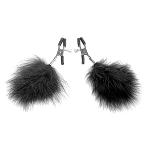 Feathered Nipple Clamps - Fun and Kinky Sex Toys
