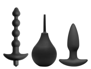 Prevision 4 Piece Silicone Anal Kit - Fun and Kinky Sex Toys