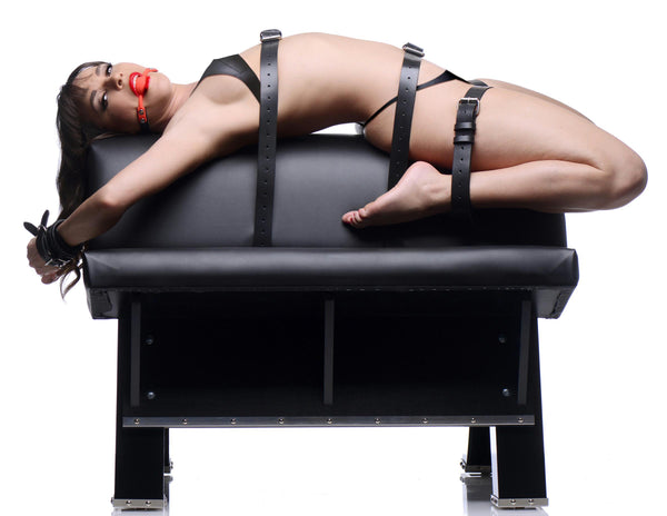 Ultimate Dungeon Essentials Kit with Bondage Horse - Fun and Kinky Sex Toys