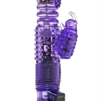 Thrusting Purple Rabbit Vibe - Fun and Kinky Sex Toys