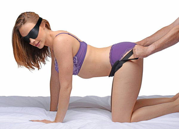 Doggie Style Strap Kit with Blindfold - Fun and Kinky Sex Toys