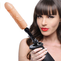 The Fucking Adapter Plus with Dildo - Fun and Kinky Sex Toys