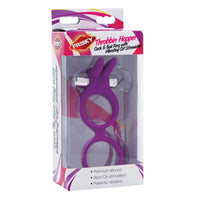 Throbbin Hopper Cock and Ball Ring with Vibrating Clit Stimulator - Fun and Kinky Sex Toys