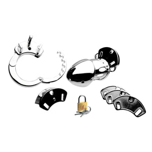 Incarcerator Adjustable Locking Chastity Cage - Fun and Kinky Sex Toys
