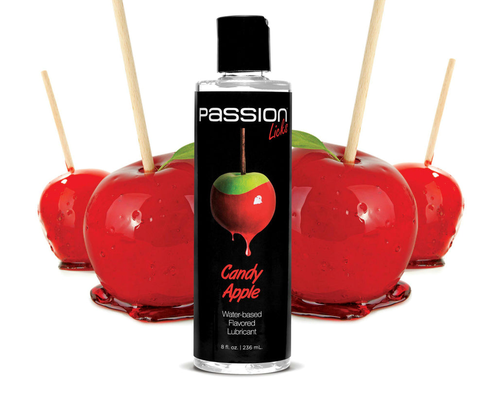 Passion Licks Vanilla Water Based Flavored Lubricant - Fun and Kinky Sex Toys