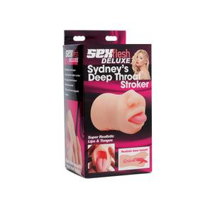 Sydneys Deep Throat Stroker - Fun and Kinky Sex Toys