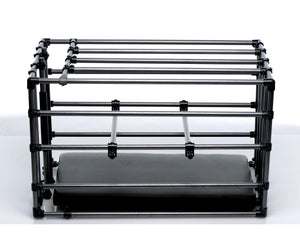 Kennel Adjustable Puppy Cage with Padded Board - Fun and Kinky Sex Toys