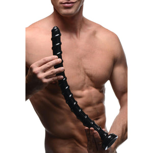 Hosed 19 Inch Swirl Anal Snake - Fun and Kinky Sex Toys