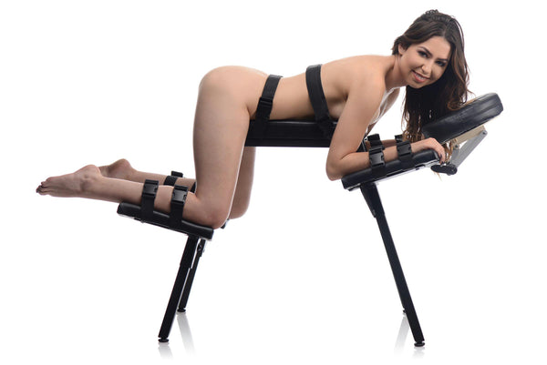 Obedience Extreme Sex Bench with Restraint Straps - Fun and Kinky Sex Toys