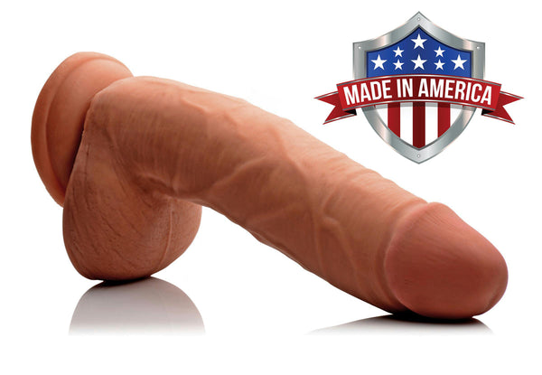 Hugo Latin SkinTech Realistic 9 Inch Dildo - Fun and Kinky Sex Toys