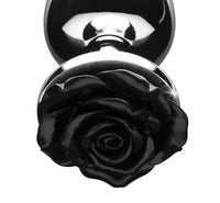 Black Rose Anal Plug - Fun and Kinky Sex Toys