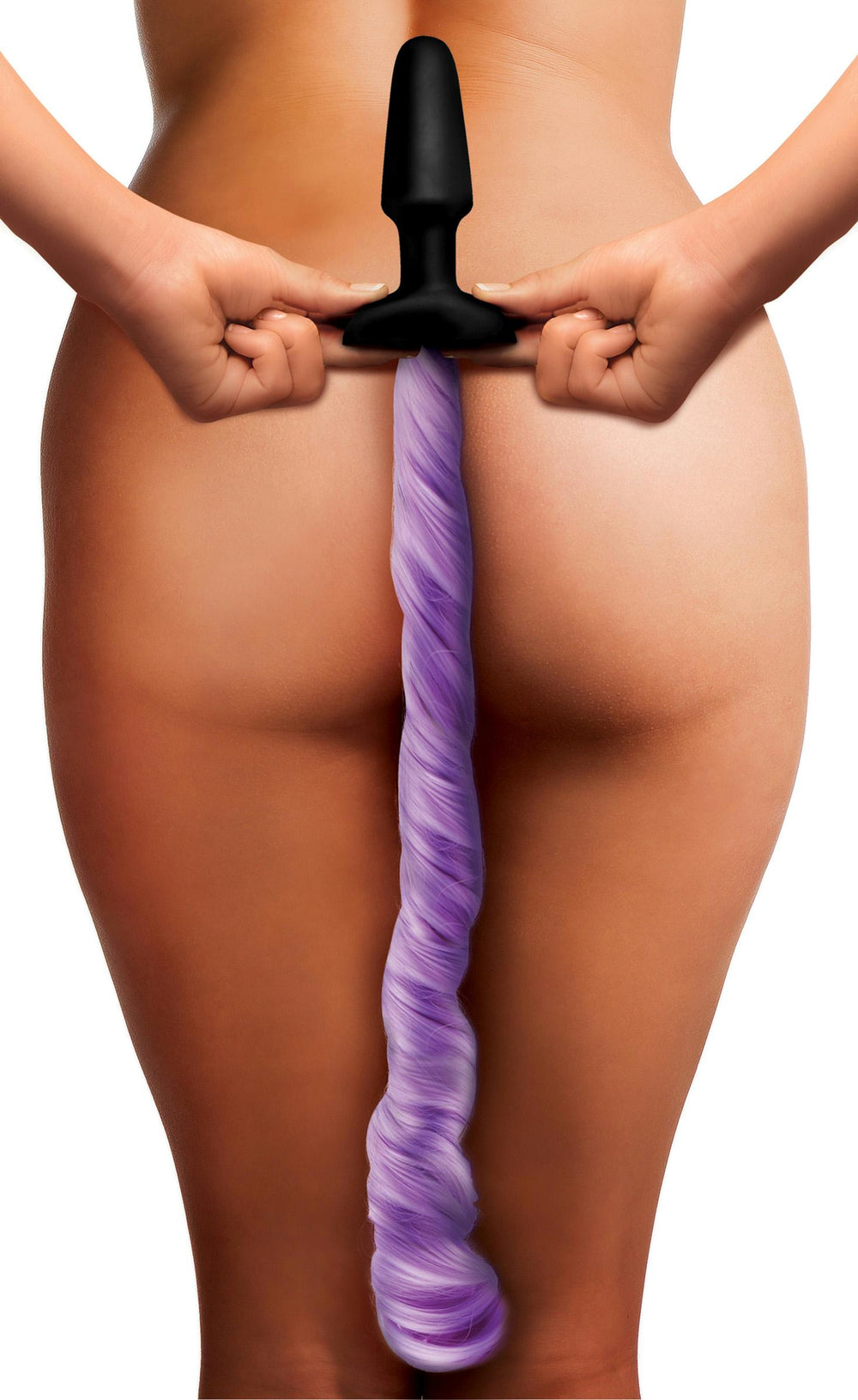 Purple Pony Tail Anal Plug - Fun and Kinky Sex Toys