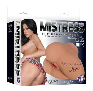 Mistress Alexis Sidesaddle Butt- Tan - Fun and Kinky Sex Toys