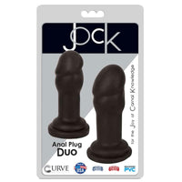 JOCK Anal Plug Duo Flesh - Fun and Kinky Sex Toys