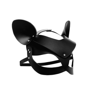 Bad Kitten Leather Cat Mask - Fun and Kinky Sex Toys