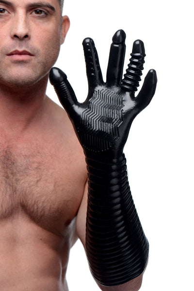 Pleasure Fister Textured Fisting Glove - Fun and Kinky Sex Toys