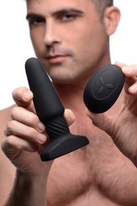 Slim R Smooth Rimming Plug With Remote Control - Fun and Kinky Sex Toys