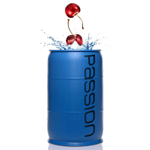 Passion Cherry Flavored Lubricant - 55 Gallon Drum - Fun and Kinky Sex Toys