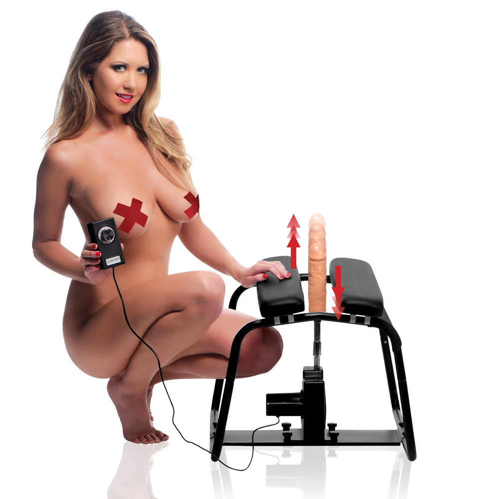 4 in 1 Banging Bench with Sex Machine - Fun and Kinky Sex Toys