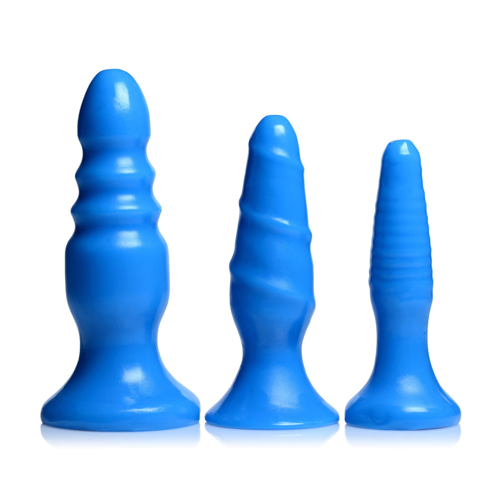 Vibrating Anal Fun Trio - Fun and Kinky Sex Toys