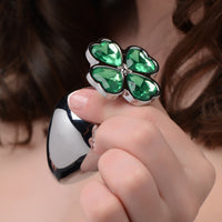 Lucky Clover Gem Anal Plug - Fun and Kinky Sex Toys