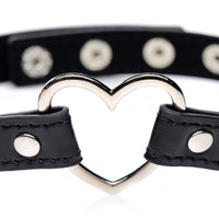 Chrome Heart Black Choker - Fun and Kinky Sex Toys