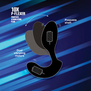 10X P-Flexer Prostate Stimulating Plug - Fun and Kinky Sex Toys