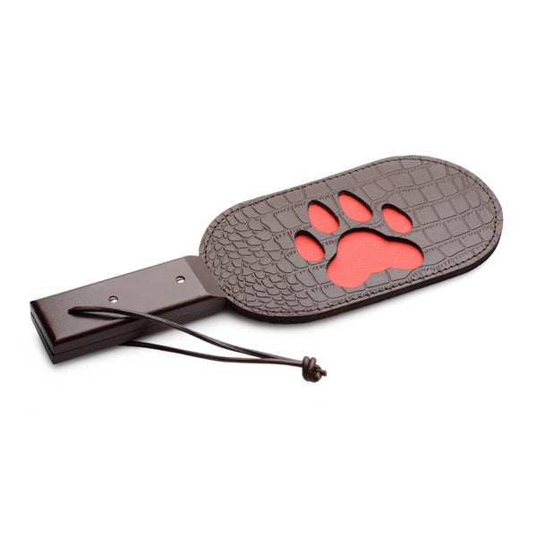 Puppy Paw Leather Paddle - Fun and Kinky Sex Toys