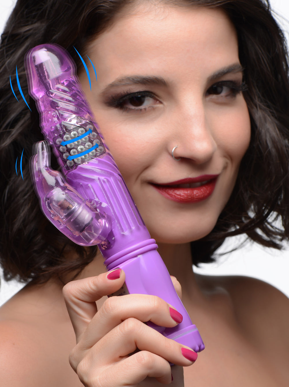 36X Purple Rabbit Vibrator - Fun and Kinky Sex Toys
