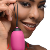 XL Silicone Vibrating Egg - Fun and Kinky Sex Toys