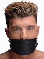Leather Covered Ball Gag - Fun and Kinky Sex Toys