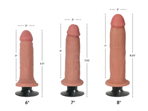 Jock Light Bareskin Vibrating Dildo - Fun and Kinky Sex Toys