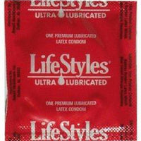 Lifestyles Ultra-Lubricated Condoms - Fun and Kinky Sex Toys