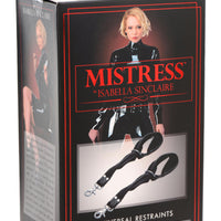 Isabella Sinclaire Universal Leather Restraints - Fun and Kinky Sex Toys