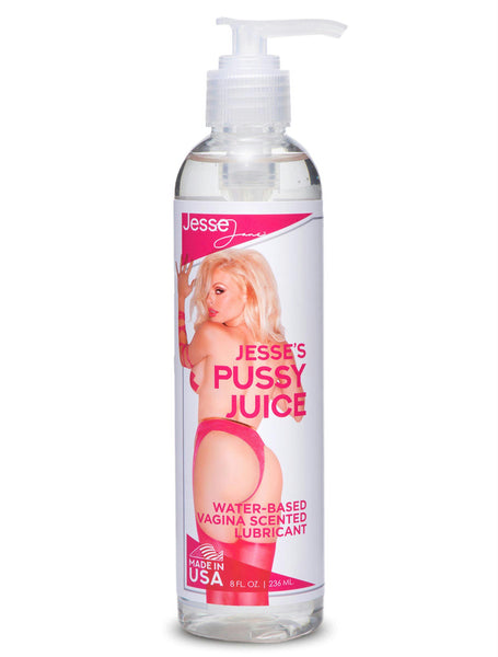 Jesses Pussy Juice Vagina Scented Lube- 8 oz - Fun and Kinky Sex Toys
