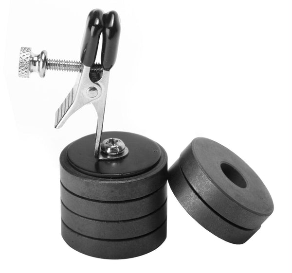 Onus Nipple Clip WMagnet Weights - Fun and Kinky Sex Toys
